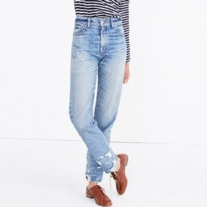 Madewell | Rivet & Thread High Rise Boyjeans